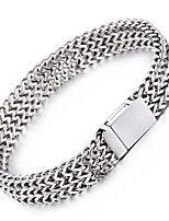 kalen® мужской новый 22см сетки браслет из нержавеющей стали 316L ювелирные изделия отполированы небольшие ручной цепи прохладный подарок