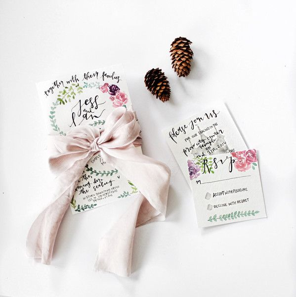 love these rsvp cards