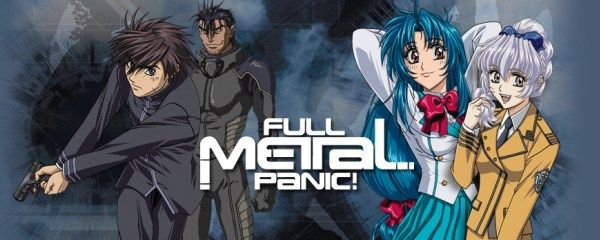 Day11: Favorite Mech Anime is Full Metal Panic! (Fact: Im not really into robots, but these Mechs are cool)