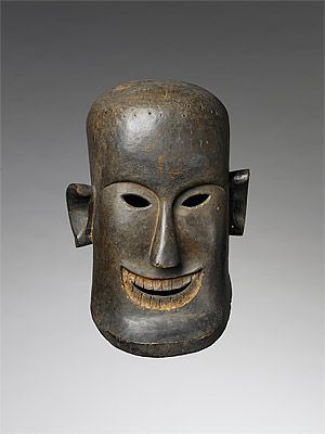 Karo Batak people, north Sumatra, Indonesia   Mask [topeng] 19th–early 20th century  wood