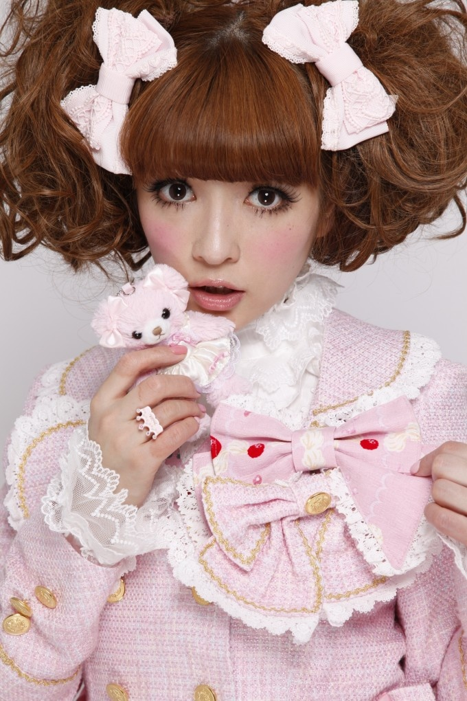 "Misako Aoki, Japanese Lolita model named an ""Ambassador of Cuteness"" by the Japanese government"