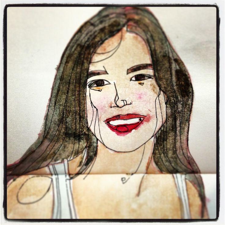 © Eldes.com - SKETCHBOOK   10 - Aquarela e nanquim. #sketchbook #watercolor
