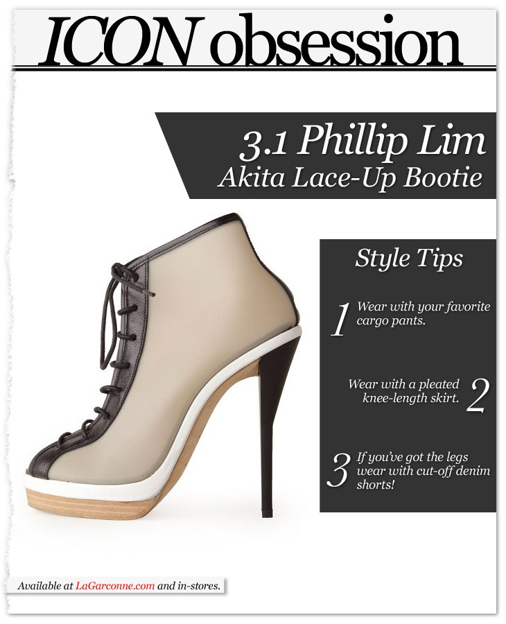 Icon Obsession: @31PhillipLim Akita booties! http://bit.ly/GAPfsI #fashion #Style #shopping