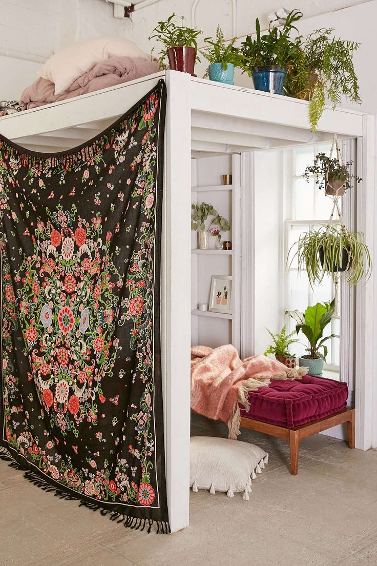 Join StuffDOT and earn cash back on this Plum & Bow Rosa Floral Scarf Tapestry via Urban Outfitters
