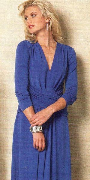 Střihy na šaty Vogue | Textilforum