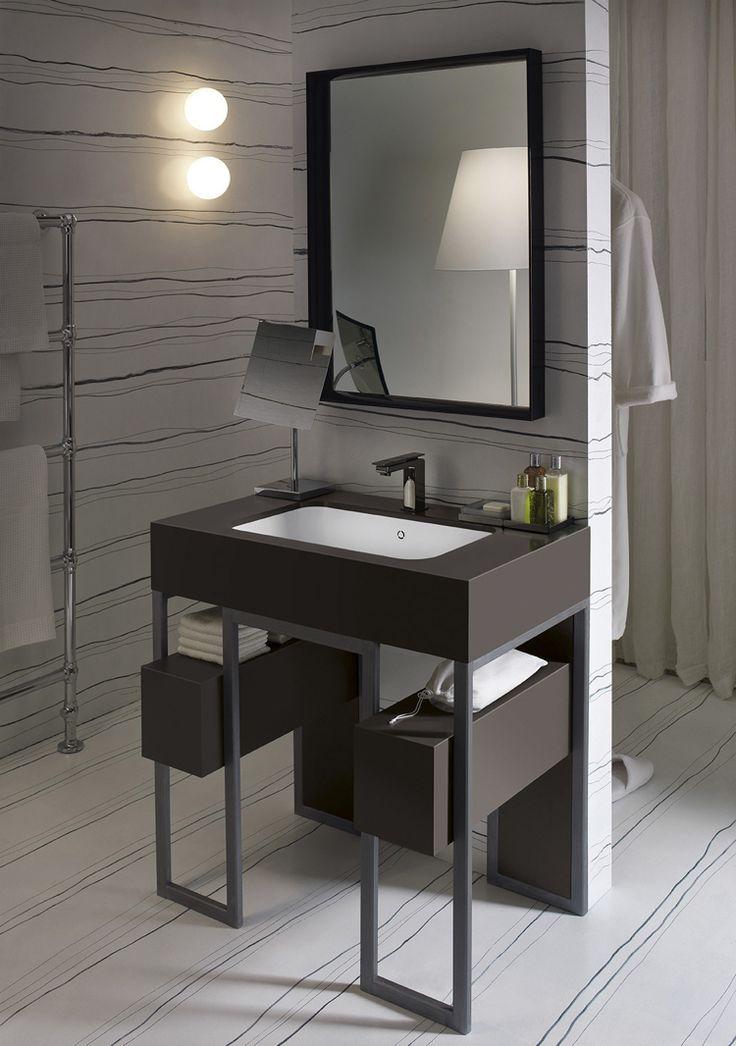 Design Handwaschbecken Badezimmer Modern Waschtisch Schublade Klein  Funktional #badezimmer #bathroom #ideas