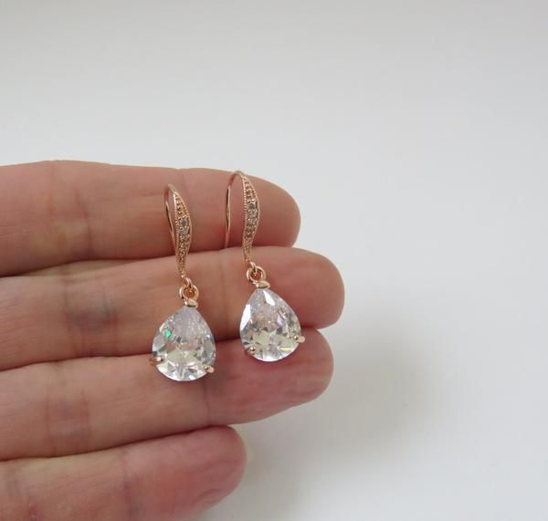151 best Rose Gold Jewelry images on Pinterest Handcrafted jewelry