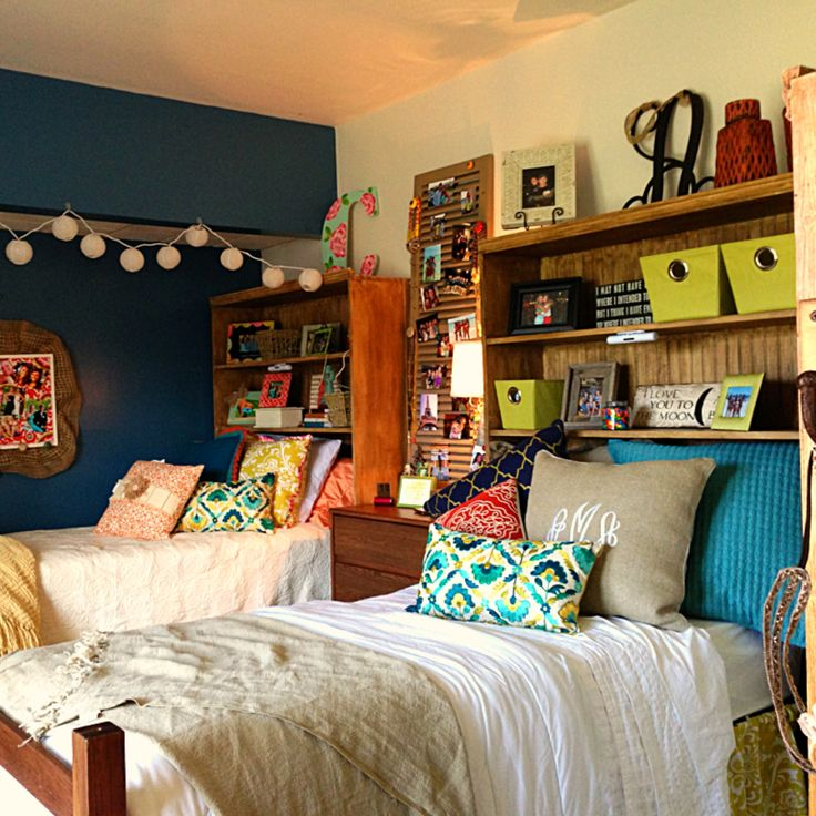 i don't know if it would even be possible to do headboards like this but it would give us more space to put stuff!