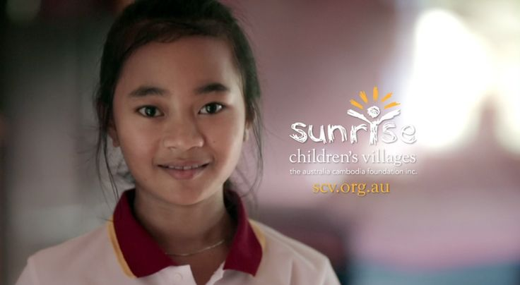 A still from the Sunrise Children's Villages CSA TV commercials