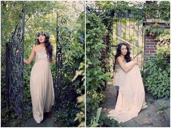 Romantic Secret Garden Wedding Inspiration Secret garden
