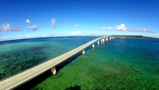 日本一長い橋で青い海を渡ろう!宮古島「伊良部大橋」が開通!   沖縄県   Travel.jp[たびねす]