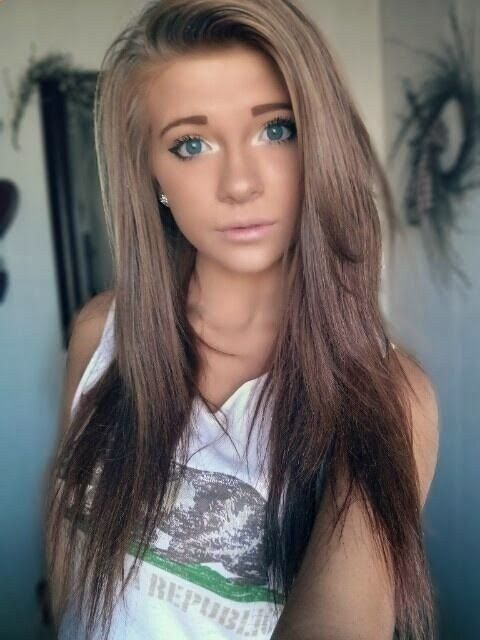 17 Best Images About Brown Hair U0026 Hairstyles On Pinterest | Brown Hair Colors Brown Auburn Hair ...