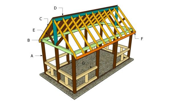 Building an outdoor pavilion