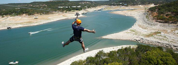 Lake Travis Zipline Adventures | Outdoor Activities in Austin