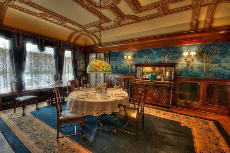 The Dining Room inside the Ruthmere Museum