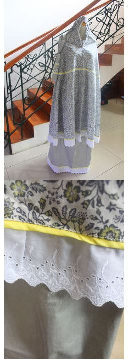 "MUKENA - MKA10. Bahan: Katun Jepang. Ukuran: All Size. ""SOLD OUT!"""