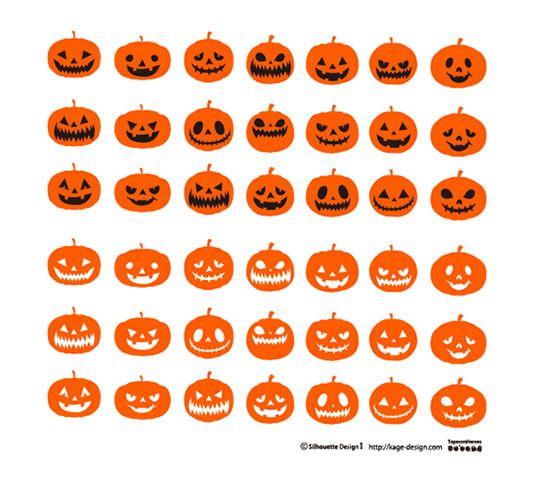 ハロウィンカボチャ | 商用フリーで使える影絵素材サイト シルエット ... : ハロウィンイラスト画像☆かぼちゃ、おばけ、魔女☆かわいいハロウィンのイラスト - NAVER まとめ