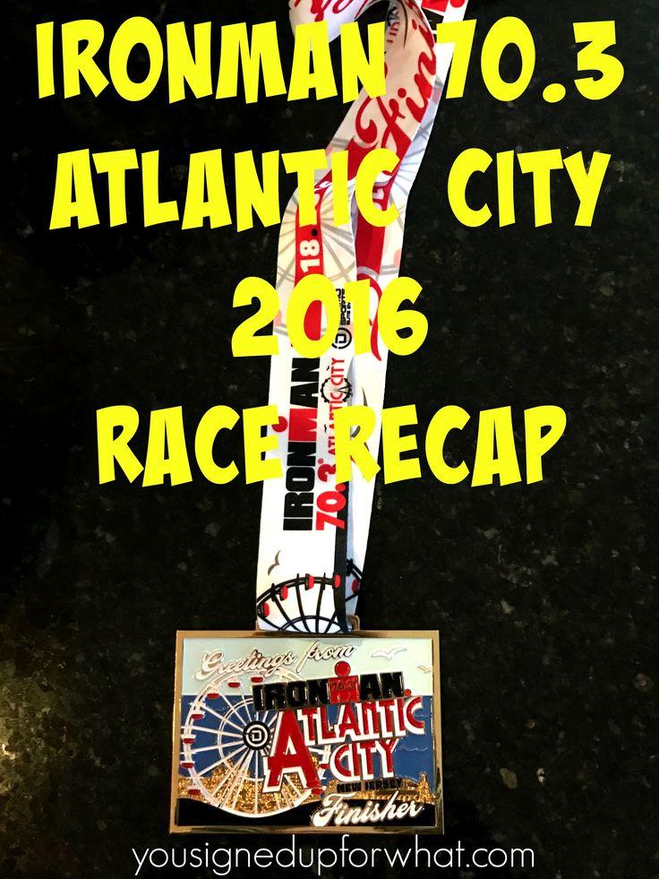 Ironman 70.3 Atlantic City Race Recap 2016