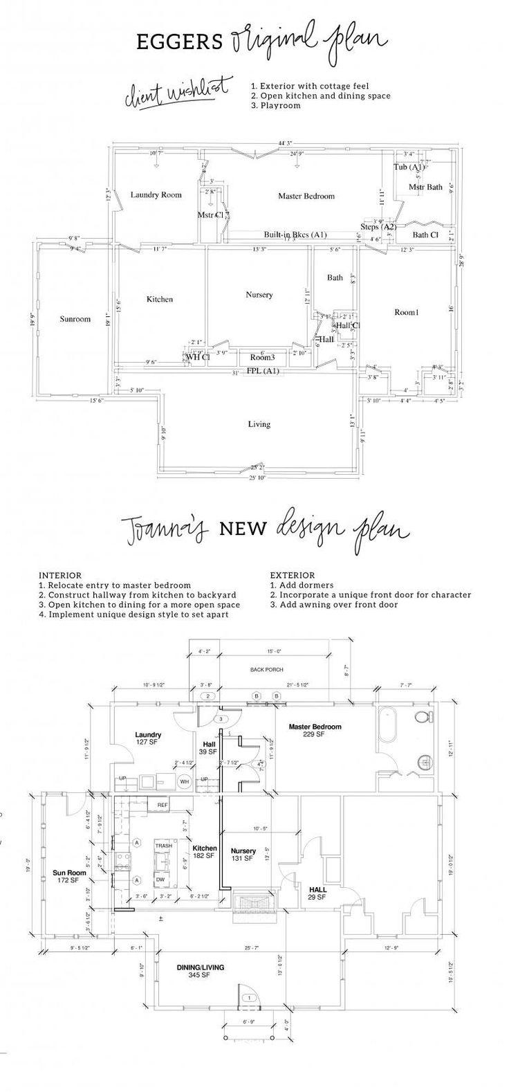 Mejores 172 imágenes de house plans. en Pinterest | Casas magnolia ...