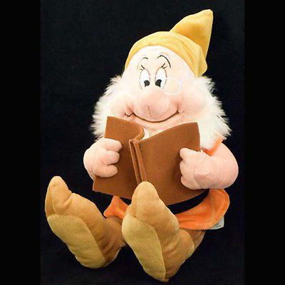 "Disney parks seven dwarfs doc 12"" plush new with tag 
