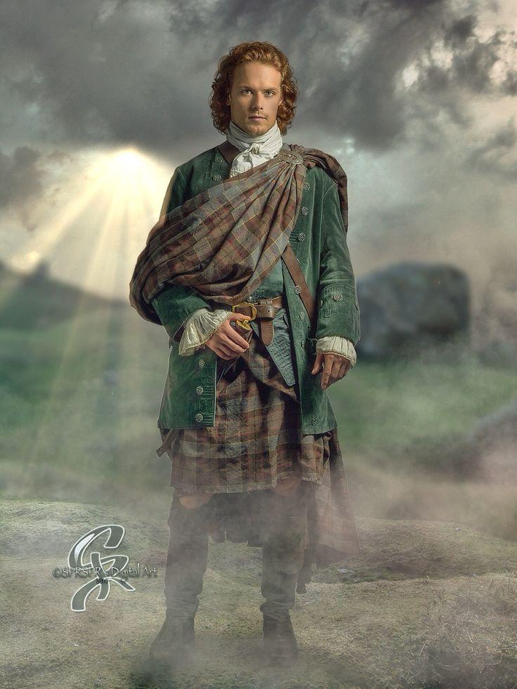 86 best scots images on pinterest romance novel covers book sam heughan as jamie fraser heartoftardis outlander by sprsprsdigitalart fandeluxe Choice Image