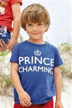 Bryson !!! For haleighs bday :-) blue prince charming t-shirt