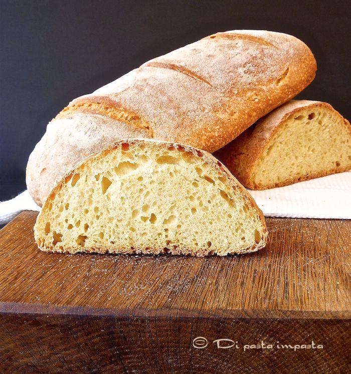 Di pasta impasta: Pane di semola di grano duro con lievito madre e b...