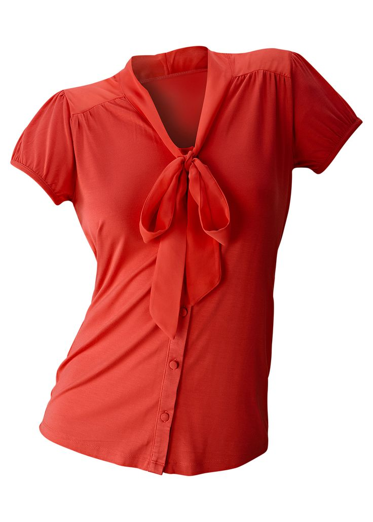 £: Camicetta di maglina, BODYFLIRT - rosso corallo