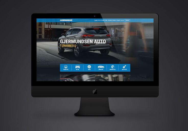 Design og utvikling av nettsider for Gjermundsen Bilforretninger i Vestfold. Se flere bilder her: http://www.norgesdesign.no/Mobilvennlig-hjemmeside-Gjermundsen-Bilforretninger #gjermundsen #webdesign #web #webutvikling #responsiv #mobilvennlig #resposivweb #design #norgesdesign