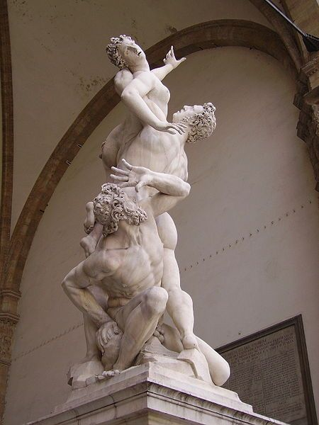 The rape of the Sabine Women - Giambologna