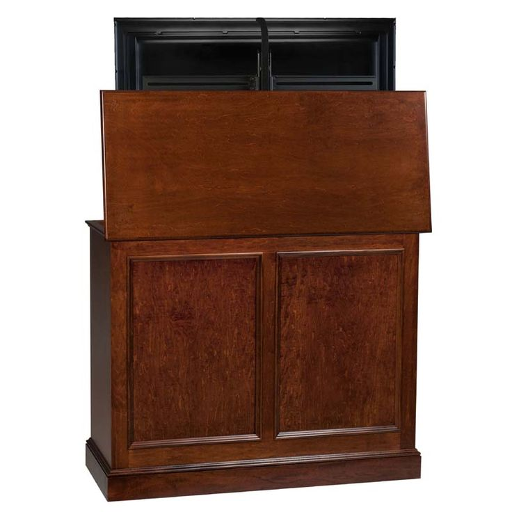 TV Lift Cabinet Carousel Series Lift for 32 to 46 inch Screens (Michaels Brown) AT006196-MIC