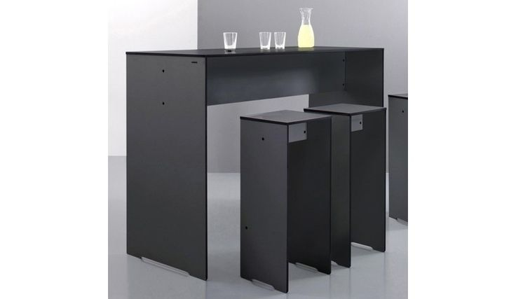 Conmoto - Riva - Bar tafel 160x109x62cm - antraciet/HPL