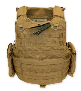 Tacprogear BLACK Releasable Body Armor Vest (RBAV): American Made to Meet Demands of Special Operators