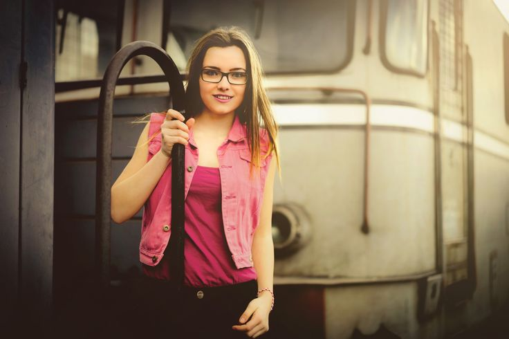 Gabriela and train - null