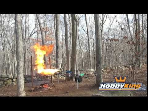 From Drone Gun to Drone Flamethrower