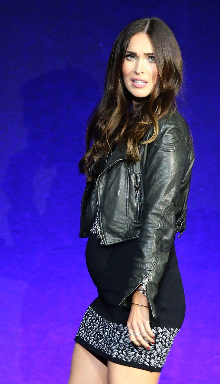 Pin for Later: 22 Stars Who Have Buns in the Oven Megan Fox