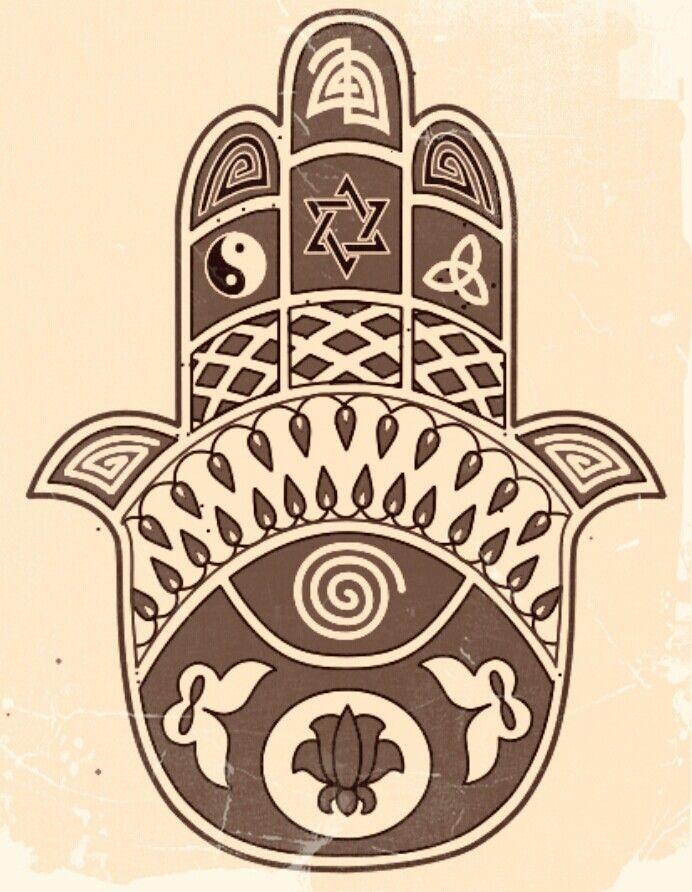 Hamsan o mano de fatima, poderosa, q el amor y la paz no falte entre nosotros :) ❤❤