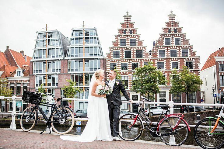 Fotoshoot bruiloft in Haarlem, Bruidsreportage, Trouwreportage, Bruidsfotografie, Bruidsfotograaf   Dario Endara