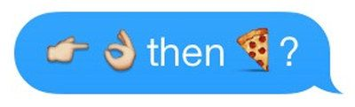 This person making plans.   The 16 Best Emoji Sexts To Ever Happen