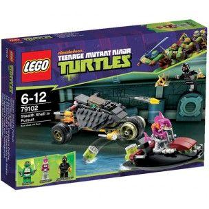 Lego Tortues Ninja #motodragon #LeGuide.com