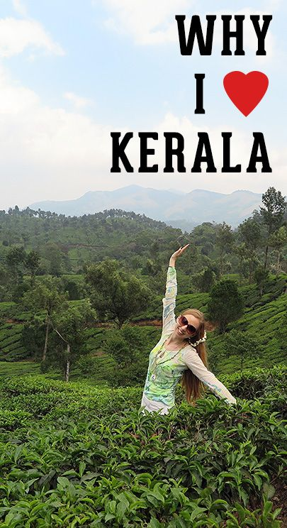 Kerala, India is a paradise on Earth. Read why it's so unique and why you'll fall in love instantly - just like I did!