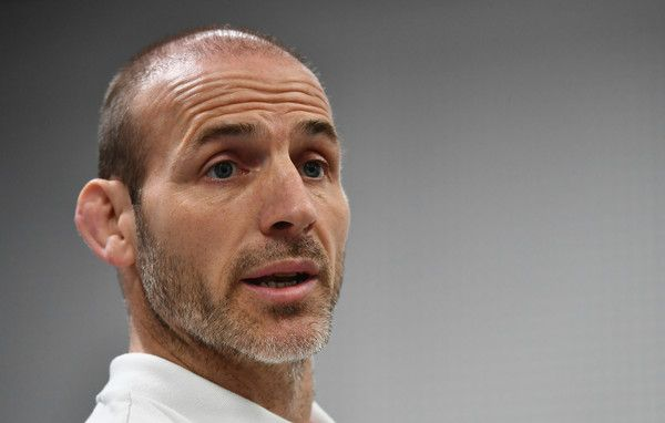 Paul Gustard Photos Photos - Paul Gustard defensive coach of England speaks during the England Captain's Run on the eve of the RBS 6 Nations match against Scotland at Twickenham Stadium on March 10, 2017 in London, England. - England Captain's Run