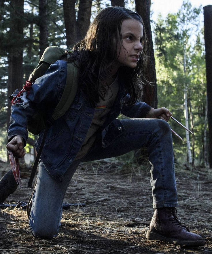 "Laura ""Dafne Keen"" Logan (2017)"
