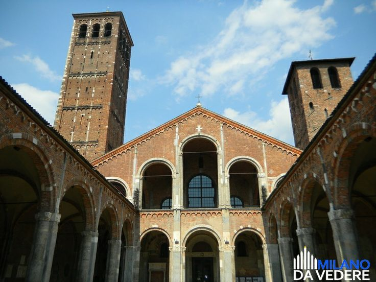S.Ambrogio #milano #milanodavedere www.milanodavedere.com