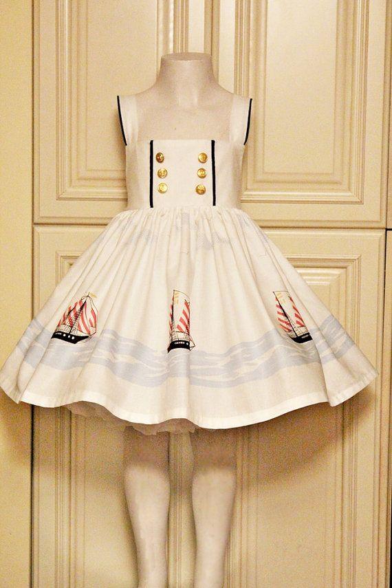 Sail+Away++Sailor+Dress+by+sweetlemonade+on+Etsy,+$49.00
