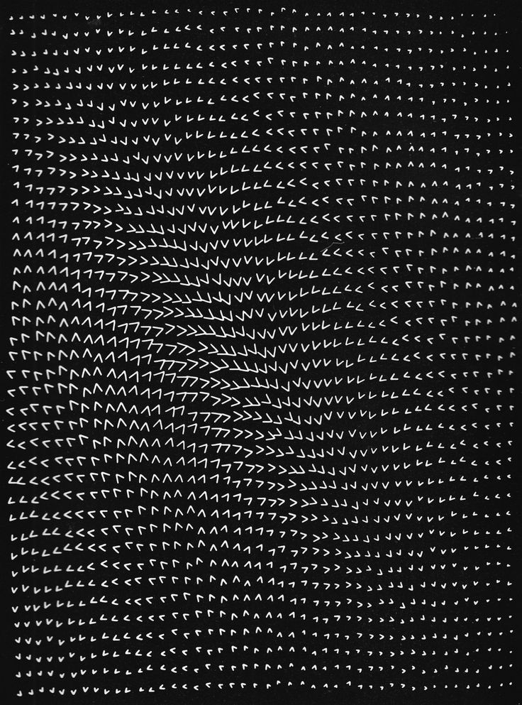 Masao Komura 'Optical effect of inequality', computer graphic based on an…