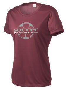 Canal Winchester High School Indians Women's Competitor Performance T-Shirt