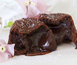 Moelleux coulant au chocolat façon Mercotte