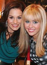 Hannah Montana and Kara DioGuardi