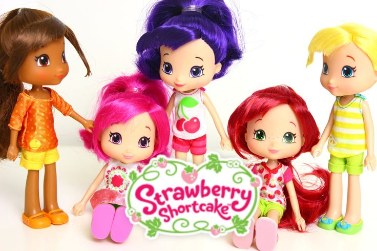 Куколки Колекция Шарлотта Земляничка Strawberry Shortcake